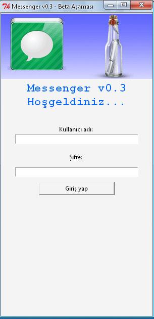 Messenger v0.3 İstemcisi ve Kaynak Kodları